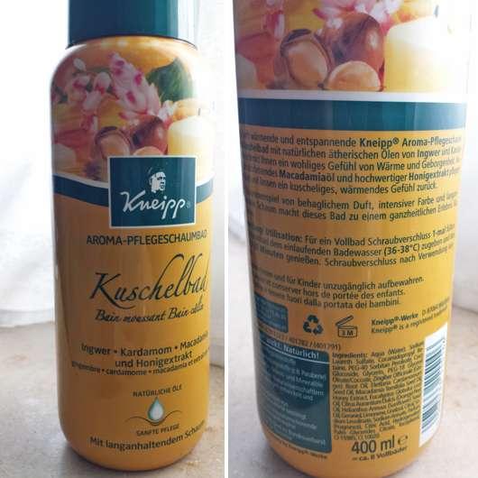 Kneipp Aroma-Pflegeschaumbad Kuschelbad