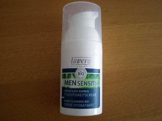 <strong>lavera Men Sensitiv</strong> Ginkgo & Bio-Bambus Feuchtigkeitscreme