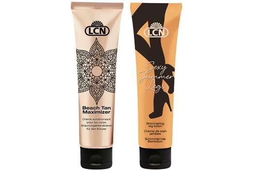 Die neue LCN Pflegeserie für nahtlos gebräunte Haut