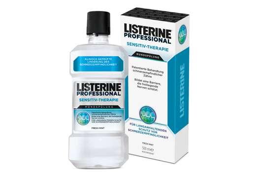 Listerine® Professional Sensitiv-Therapie