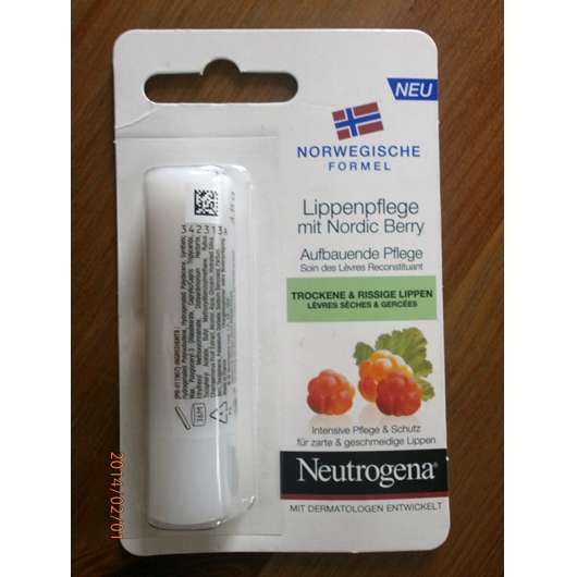 Neutrogena Norwegische Formel Lippenpflege mit Nordic Berry