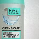 Rival de Loop Clean & Care Ölfreier Augen Make-Up Entferner