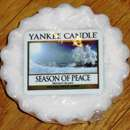 Yankee Candle Season Of Peace Tart