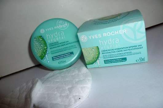 Yves Rocher Hydra Végétal Reichhaltige Creme 24H Feuchtigkeit