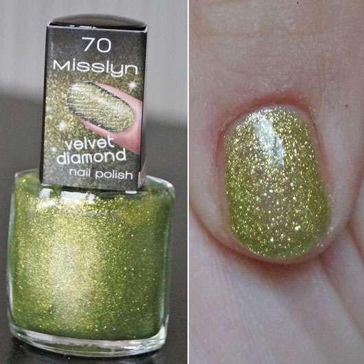 Misslyn Velvet Diamond Nail Polish, Farbe: 70 Spark Of Hope