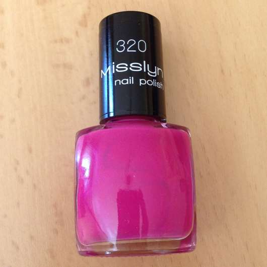 Misslyn nail polish, Farbe: 320 Exotic Fruit