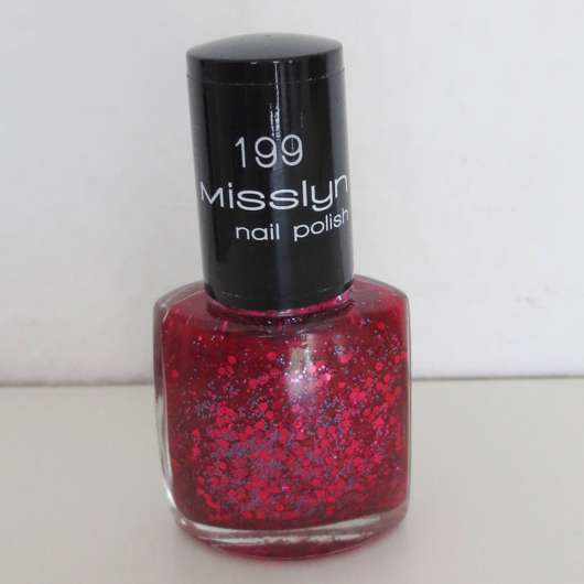 Misslyn nail polish, Farbe: 199 sexy love