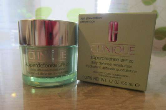 Clinique Superdefense SPF 20 Daily Defense Moisturizer