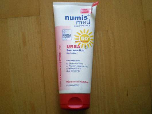 <strong>numis med</strong> Urea Sonnenlotion LSF 50+