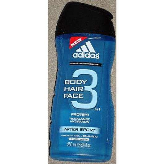 <strong>adidas</strong> 3in1 Body Hair Face Showergel After Sport