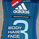 adidas 3in1 Body Hair Face Showergel After Sport