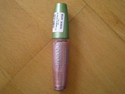 alverde Lipgloss Maximize Effect, Farbe: 50 Nude Secret
