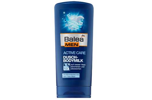 Balea MEN active care Dusch-Bodymilk