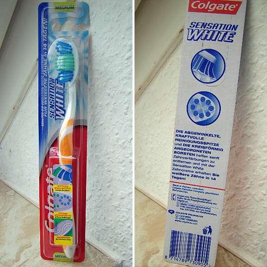 Colgate Sensation White Zahnbürste (Medium)