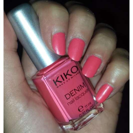 KIKO Denim Nail Lacquer, Farbe: 460 ink pink (LE)