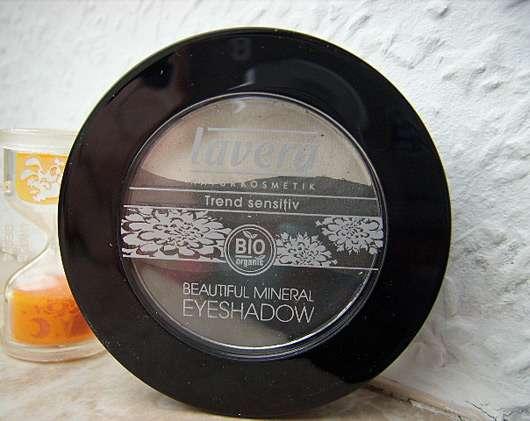 lavera Trend Sensitiv Beautiful Mineral Eyeshadow Trio, Farbe: 01 Smoky Grey