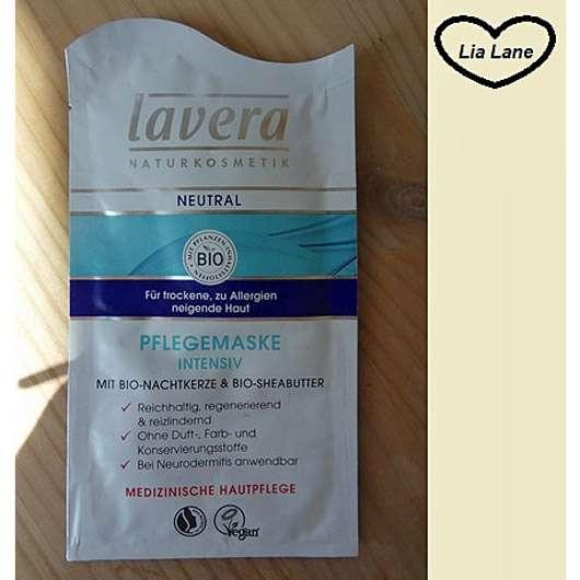 lavera Neutral Pflegemaske Intensiv (für trockene, zu Allergien neigende Haut)