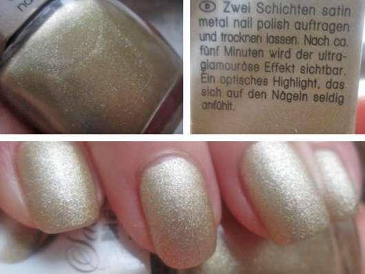 Misslyn Satin Metal Nail Polish, Farbe: 10 Gold-Plate