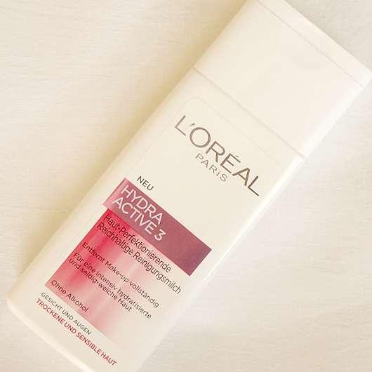 L'Oréal Paris Hydra Active 3 Haut-Perfektionierende Reichhaltige Reinigungsmilch