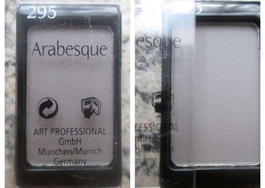 Arabesque Kompakter Lidschattenpuder, Farbe: 295 Steingrau