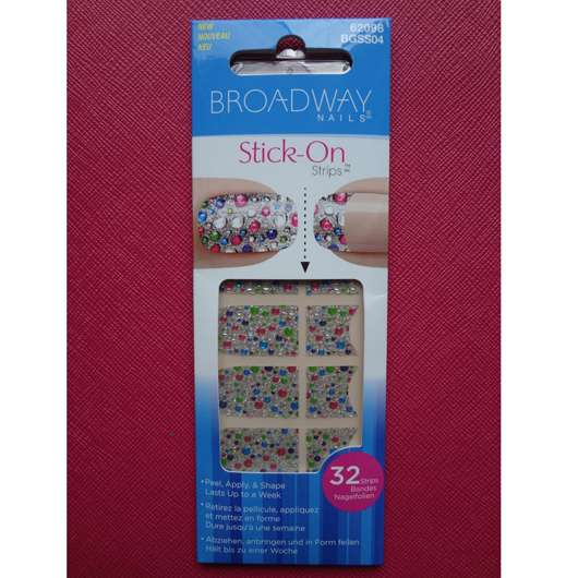 <strong>Broadway Nails</strong> Stick-On Strips - Design: Amazing Lace