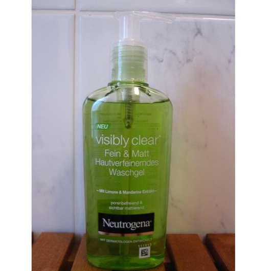 Neutrogena Visibly Clear Fein & Matt Hautverfeinerndes Waschgel