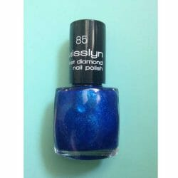 Produktbild zu Misslyn Velvet Diamond Nail Polish – Farbe: 85 royal blue