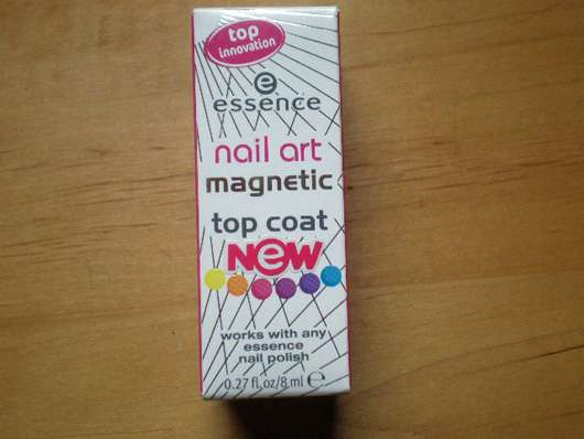 essence nail art magnetic top coat, Farbe: 01 i believe in magic!