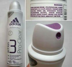 Produktbild zu adidas for women action 3 Pro Clear Anti-Transpirant Deo-Spray