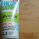 alverde Men Duschgel + Shampoo 3in1 (LE)