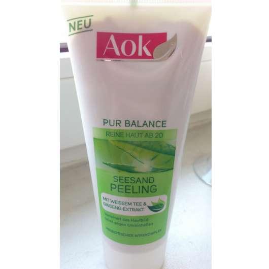 Aok Pur Balance Seesand Peeling (Mit Weißem Tee & Ginseng-Extrakt)