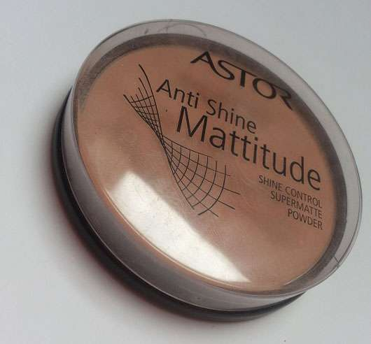 Astor Anti Shine Mattitude Powder, Farbe: 005 Beige (for normal to oily skin)