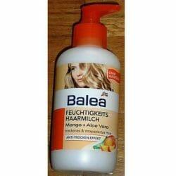 Produktbild zu Balea Feuchtigkeits-Haarmilch Mango + Aloe Vera