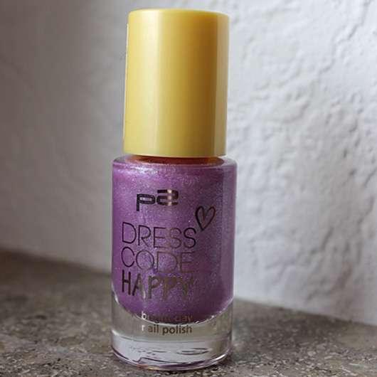 p2 dresscode happy bright day nail polish, Farbe: 010 vintage lily (LE)