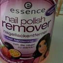 essence nail polish remover nail hardening (strawberry + passion fruit)