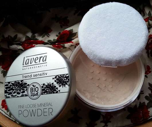 lavera Trend sensitiv Fine Loose Mineral Powder, Farbe: Transparent