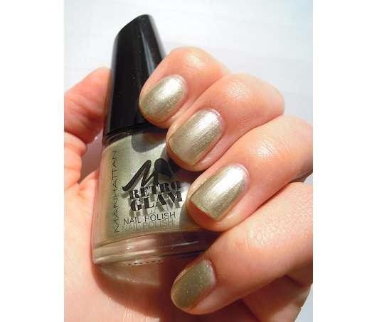 Manhattan Retro Glam Nail Polish, Farbe: 004 Hey Jade! (LE)