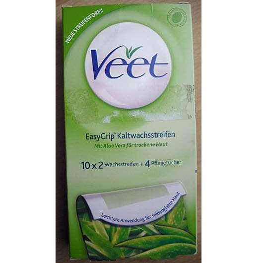 <strong>Veet</strong> EasyGrip Kaltwachsstreifen (mit Aloe Vera für trockene Haut)