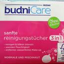 budniCare Sanfte Reinigungstücher 3in1 (normale und Mischhaut)