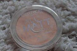 Produktbild zu Catrice All Matt Plus Shine Control Powder – Farbe: 010 Transparent