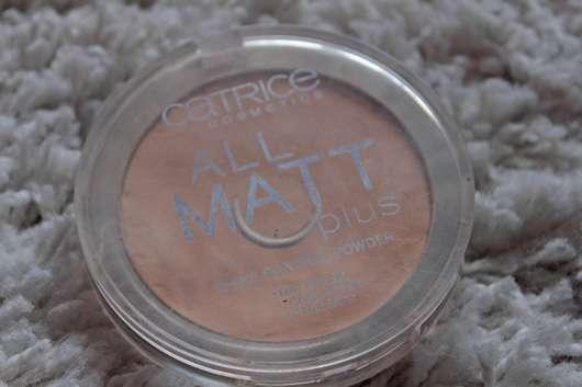 Catrice All Matt Plus Shine Control Powder, Farbe: 010 Transparent