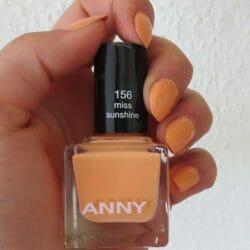 Produktbild zu ANNY Cosmetics Nagellack – Farbe: 156 miss sunshine (LE)