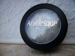 Produktbild zu Arabesque Glamour Eyeshadow wet & dry – Farbe: 96 Metallic Silber
