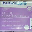 budniCare Milde Reinigungstücher 3in1 (trockene und sensible Haut)