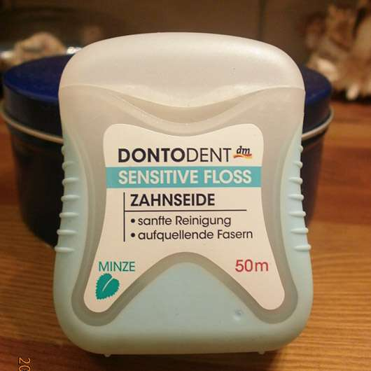 DONTODENT Sensitive Floss Zahnseide Minze