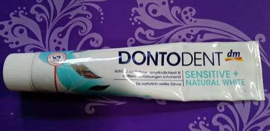 DONTODENT Sensitive + Natural White Zahncreme