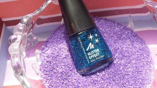 Manhattan Glitter Effect Nail Polish, Farbe: 004 Laguna Love (LE)