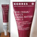 Korres Eye Cream SPF 15