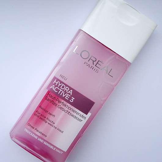L'Oréal Paris Hydra Active 3 Haut-Perfektionierendes Sanftes Gesichtswasser