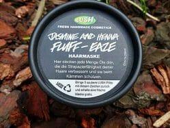 Produktbild zu LUSH Jasmin & Henna Fluff-Eaze (Haarmaske)